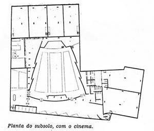 Figura 12 – Planta do subsolo