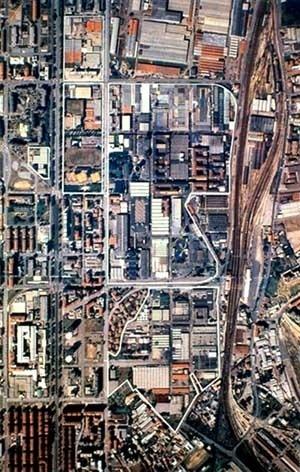Aérea – Fotografia aérea com local de intervenção