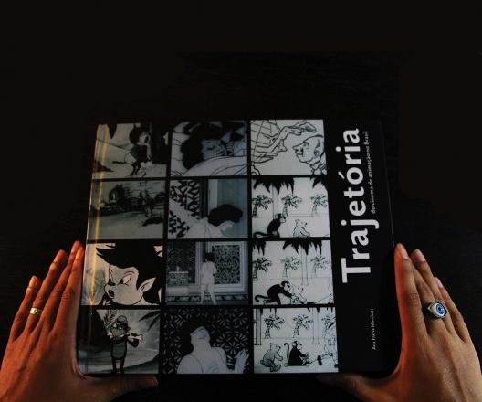 Capa do livro <i>Trajetória do cinema de animação no Brasil</i>, de Ana Flávia Marcheti<br />Imagem divulgação