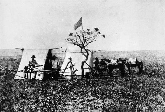 Acampamento da Missão Cruls, 1892-1896 [Museu de Astronomia e Ciências Afins, Rio de Janeiro]