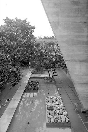 Museu de Arte Moderna, Affonso Reidy, Rio de Janeiro<br />Foto Nelson Kon