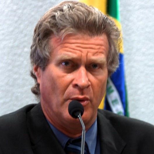 Alfredo Hélio Syrkis (1950-2020), conhecido como Alfredo Sirkis<br />Foto divulgação  [Agência Senado]