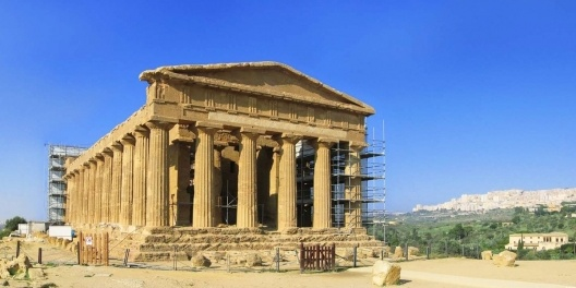 Templo da Concórdia, Agrigento<br />Foto Victor Hugo Mori