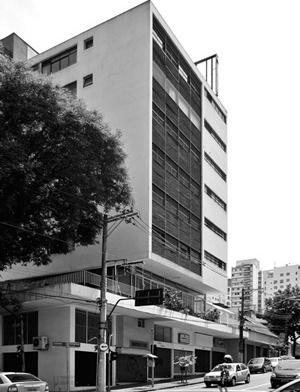 Edifício Albert Safdie, Arq. Jorge Wilheim, Rua Pamplona<br />Foto LEG
