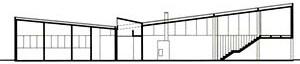Imagem 04 - Corte da casa J. B. Vilanova Artigas [Fundação Vilanova Artigas]