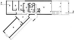 Imagem 14 - Planta da casa J. B. Vilanova Artigas [ACAYABA, Marlene Milan]