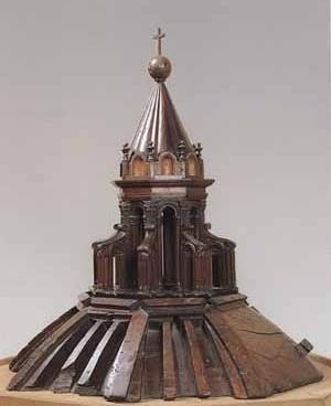 Maquete em madeira para lanternim da Igreja de Santa Maria dei Fiori
