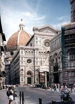 Igreja de Santa Maria dei Fiori, Florença. Cúpula de Brunelleschi<br />Foto AG