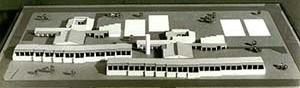 Cidade de Caraíba, (Pilar), Jaguarari, BA, 1978. Maquete edifício