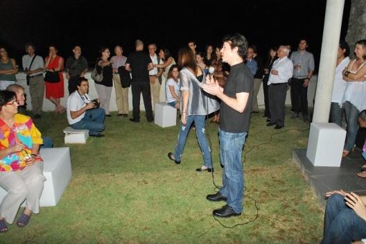 Flávio Coddou discursando<br />Foto Thomas Bussius