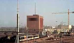 Figura 2 – Centro de Sinalização de Trens, Auf dem Wolf, Basiléia, Suíça. Projeto 1988/89, realização 1992-1995 <br />Foto The Pritzker Architecture Prize