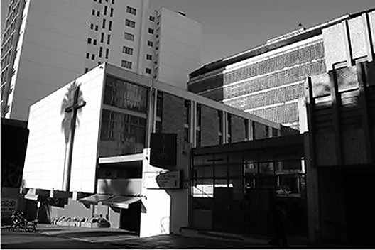 Centro Evangélico de Porto Alegre, Carlos M. Fayet, Suzy T. Fayet, 1959 [Foto do autor]