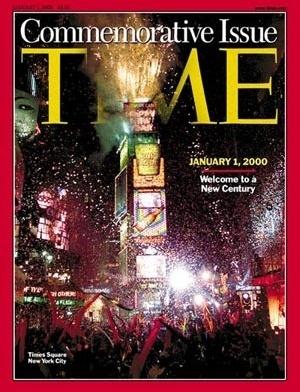 Nova York, a cidade-símbolo na capa da Time [Time, 01/01/2000]