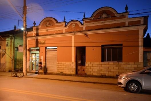 Edificação de interesse cultural no centro urbano de Matias Barbosa<br />Foto Fábio Lima