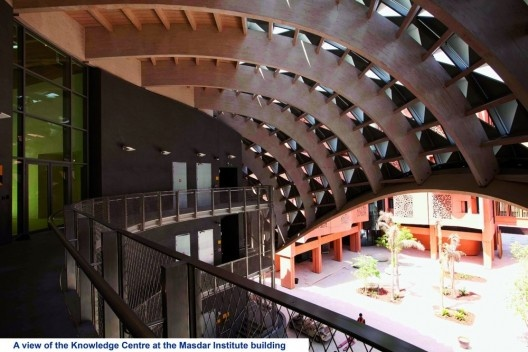 Knowledge Center, Foster + Partners<br />www.masdar.ae