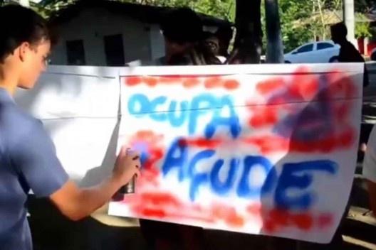 Ocupaçude, equipe Manoella Cavalcanti, Marihana Cirne e Raphael Albuquerque
