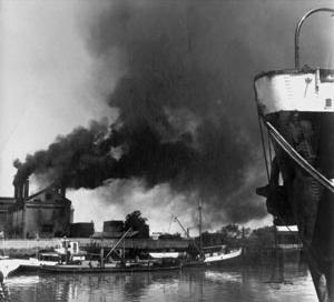 Porto de Buenos Aires e seu perfil industrial<br />Foto: Pessano  [Arquivo CEDODAL]