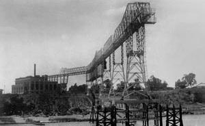 Usina elétrica de Corrientes, sobre o rio Paraná  [Arquivo CEDODAL]