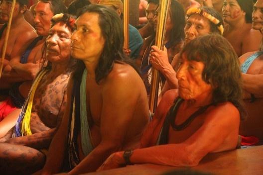 Comunidade Wajãpi, Amazônia<br />Foto divulgação  [Instituto de Pesquisa e Formação Indígena / Programa Wajãpi]