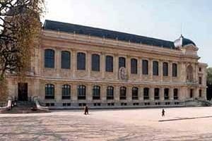 Grande Galeria da Evolução, Paris. Fachada principal