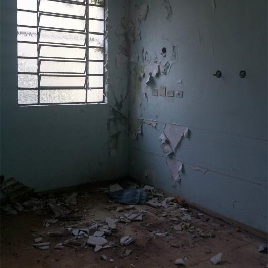 Hospital abandonado em Franco da Rocha SP<br />Foto Abilio Guerra