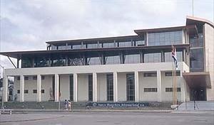 Jose A. Choy, Sede do Banco Financeiro Internacional, Havana, Cuba, 1999<br />Foto Roberto Segre