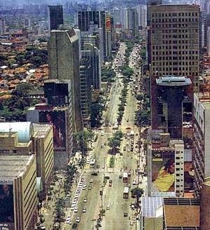 Operação Urbana Faria Lima: vista da paisagem de torres [SEMPLA/PMSP]