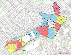 Operação Urbana Faria Lima – lei: divisão em subsetores (lei 13.769/04) [SEMPLA/PMSP]