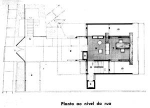 Res. Cunha Lima, 1958, planta [Acervo do Arquiteto]