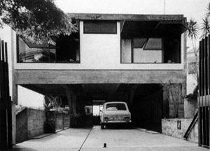 Res. Cunha Lima, 1958, vista frontal [Acervo do Arquiteto]