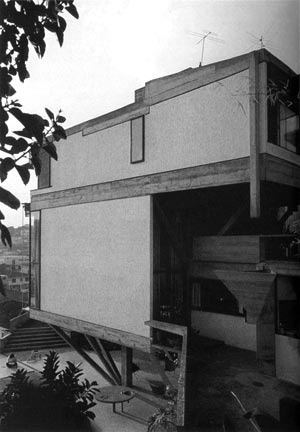 Res. Cunha Lima, 1958, vista lateral [Acervo do Arquiteto]
