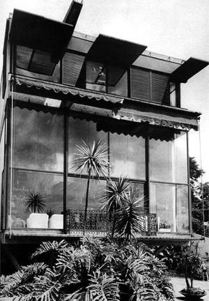 Res. Cunha Lima, 1958, vista posterior [Acervo do Arquiteto]