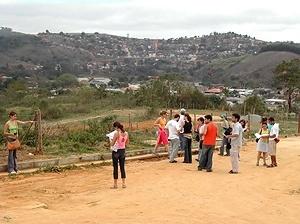 Estudantes da arquitetura pública em visita técnica ao Bairro São Cristóvão