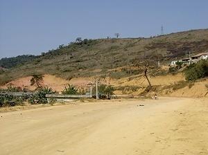 Terreno escolhido para implantação do bairro S. Cristóvão - periferia distante da cidade