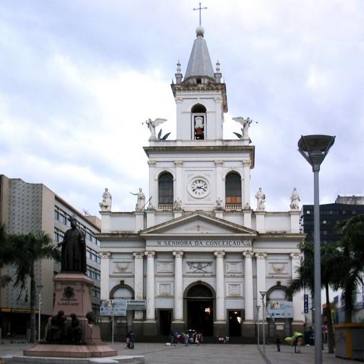 Igreja Matriz de Campinas, atual Catedral Metropolitana de Nossa Senhora da Conceição<br />Foto Felipe Micaroni Lalli  [Wikimedia Commons]