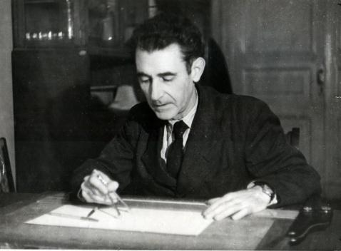 Manuel Sánchez Arcas. Moscú (1945) [Archivo de Mercedes Sánchez Cruz-López]