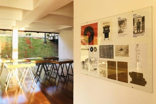 Vista da exposição<br />Foto Ediz Cruz