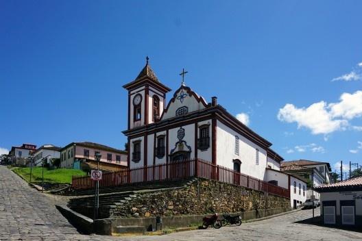 Igreja de São Francisco de Assis, Diamantina MG <br />Foto Jeff Britto  [Wikimedia Commons]