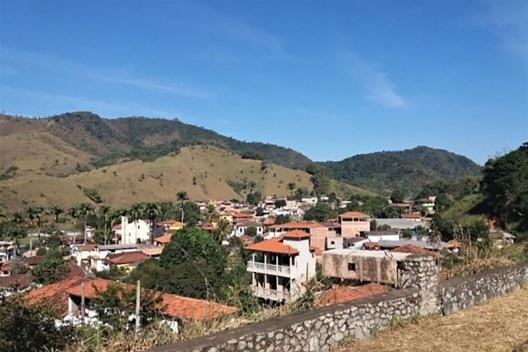 Vista panorâmica de Acaiaca MG<br />Foto dos autores, 2019