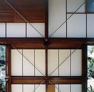 Casa Helio Olga, São Paulo, 1990. Arquitetura com madeira certificada, arquiteto Marcos Acayaba. <br />Foto Nelson Kon