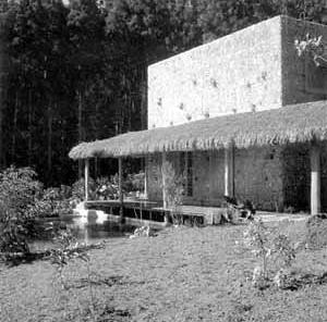 Casa Valéria Cirell, São Paulo, 1958. Arquiteta Lina Bo Bardi [Arquivo do Instituto Lina Bo e P.M. Bardi]