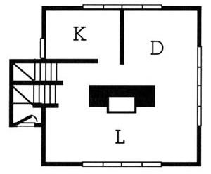 Esquema The Prairie Square Versus, Frank Lloyd Wright.  [WRIGHT, Frank Lloyd]