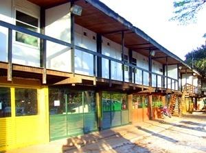 Alojamentos da UnB feitos usando sistema padronizado de construção (Sérgio Rodrigues, 1962)<br />Foto Danilo Matoso Macedo