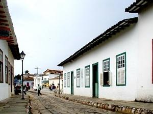 Casa de Cora Coralina na cidade de Goiás Velho (século XVIII)<br />Foto Danilo Matoso Macedo