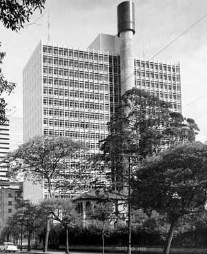 Banco Sul-Americano do Brasil [Acervo Digital Rino Levi / FAU PUC-Campinas.]