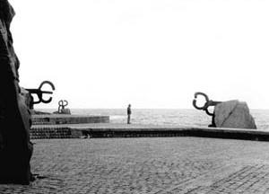 Peine del Viento, 1976, Eduardo Chillida e Peña Ganchegui. Paseo Eduardo Chillida, San Sebastián, Espanha<br />Fonte: Website de Eduardo Chillida