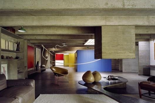 Casa Tomie Ohtake, São Paulo, arquiteto Ruy Ohtake<br />Foto Nelson Kon