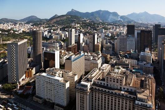Sede do Ministério da Educação e Saúde, atual Palácio Capanema, arquiteto Lúcio Costa<br />Foto Nelson Kon