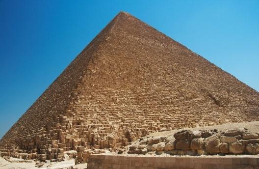 Grande Pirâmide de Giza, Egito<br />Foto Barcex  [Wikimedia Commons]
