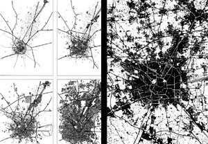 Estrutura de crescimento urbano de Milão: as cidades circunscrita, compacta e difusa